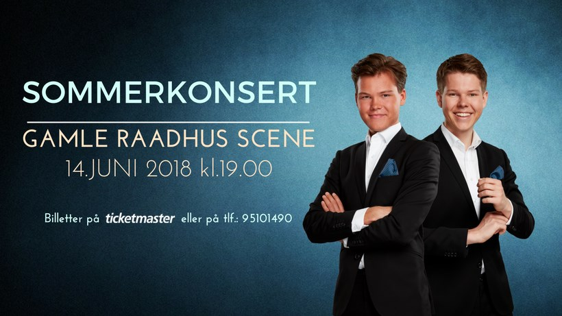 Sommerkonsert med Martin & Henrik Enger Holm